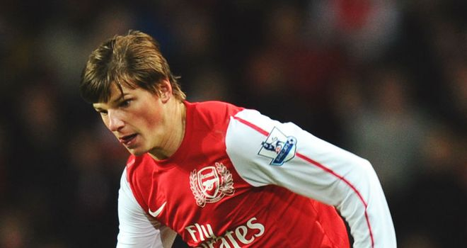 Andrey Arshavin: The 30-year-old has been linked with a move back to Russia this month