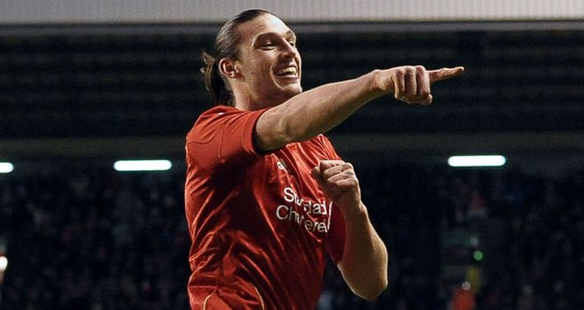Andy Carroll: The former Newcastle striker has scored just eight times for Liverpool in 47 games