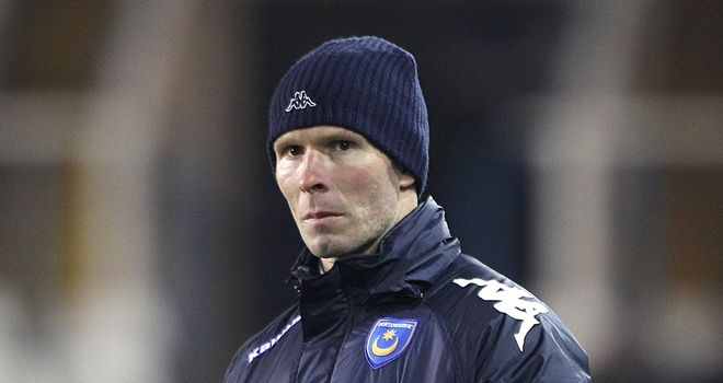 Michael Appleton: Portsmouth are facing relegation to League One