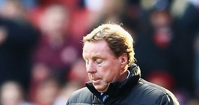 Harry Redknapp: The Spurs boss is convinced that his side will bounce back from a derby-day defeat