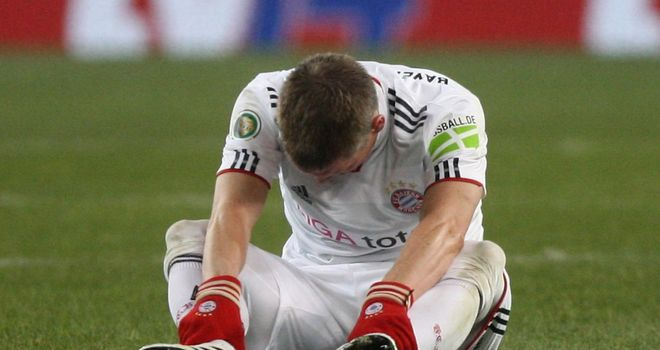 Bastian Schweinsteiger: Facing a spell out of action with ankle ligaments injury