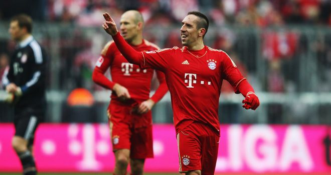 Franck Ribery: Took all the plaudits in win over Schalke
