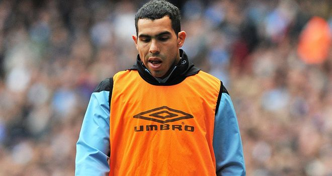 Carlos Tevez: The striker will play in a number of reserve games before featuring for the first team
