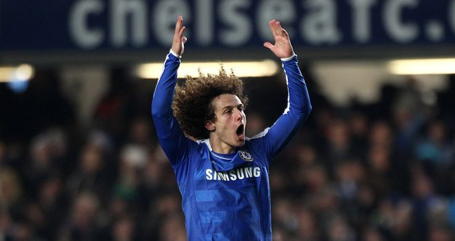 David Luiz: Determined to knock old side Benfica out of the Champions League