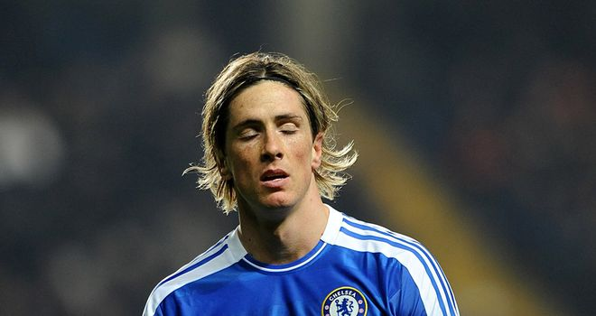 Fernando Torres: Has struggled for goals throughout his time with Chelsea