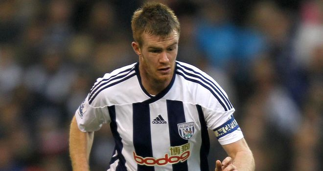 Chris Brunt: Says new England boss Hodgson will be missed at West Brom
