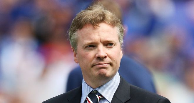 Craig Whyte: working 'very hard' to help the club through administration process
