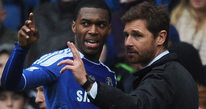 Daniel Sturridge: Chelsea striker has praised Andre Villas-Boas for helping him to develop