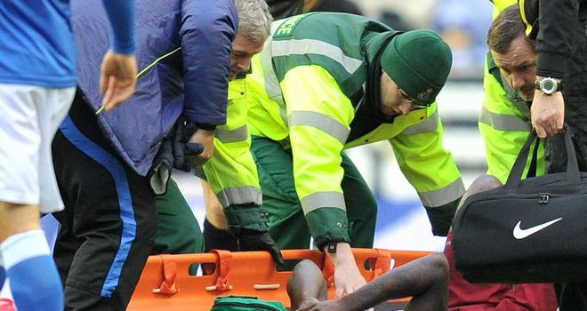 Darren Bent: The England man ruptured his ankle ligaments in Aston Villa's 0-0 draw at Wigan