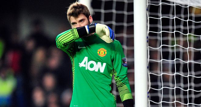 David de Gea: Starting to settle at Old Trafford, according to Evans