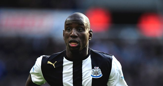 Demba Ba: Believed to be entitled to half of any transfer fee that takes him away from Newcastle