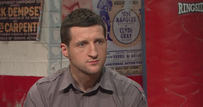 Carl Froch: Has admitted prolonging fights so members of his family could benefit from betting