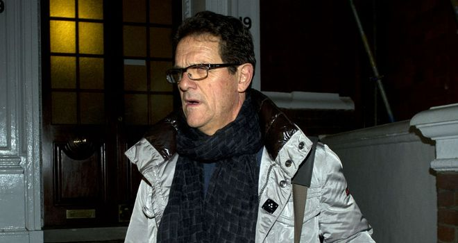 Fabio Capello: Interested in becoming a club manager again, perhaps in the Premier League