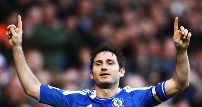 Frank Lampard: Was touched by fans' backing against Bolton