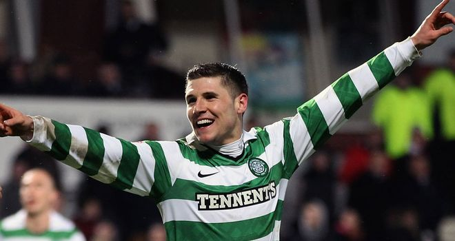 Gary Hooper: Celtic striker was on target to secure victory over Motherwell