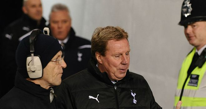 Harry Redknapp: Focusing on Tottenham amid continuing speculation linking him with England
