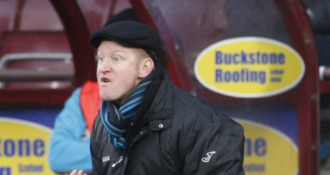 Steve Lomas: The St Johnstone boss will take his side into Europe for the first time this century