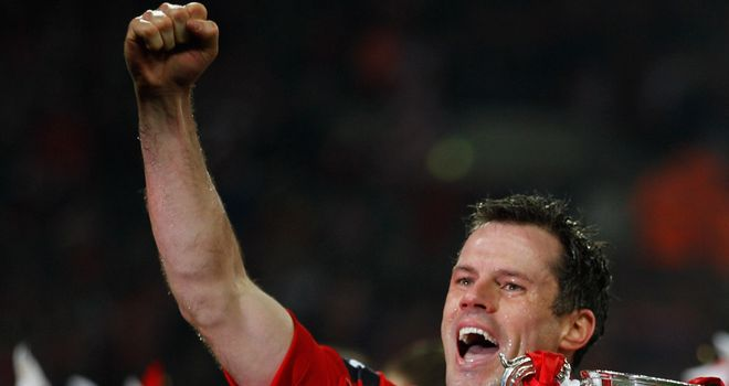 Jamie Carragher: Determined to enjoy his trip to Wembley on Saturday