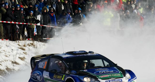 Jari-Matti Latvala: Takes the lead into the final day of Rally Sweden