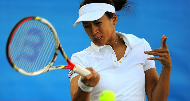 Anne Keothavong: Claimed a 4-6 6-2 6-3 success over Melinda Czink in Copenhagen
