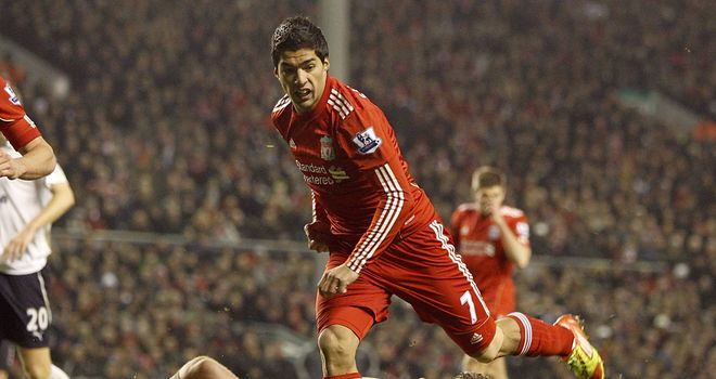 Luis Suarez: Returned from eight-match ban against Tottenham on Monday