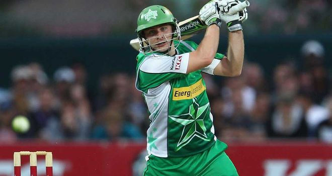 Luke Wright: Joining Pune Warriors for 2012 IPL