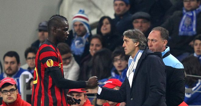 Mario Balotelli: Left out of Manchester City squad for clash with Spurs