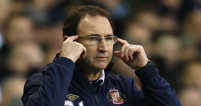 Martin O'Neill: Happy with his side despite seeing them lose 2-1 to Arsenal