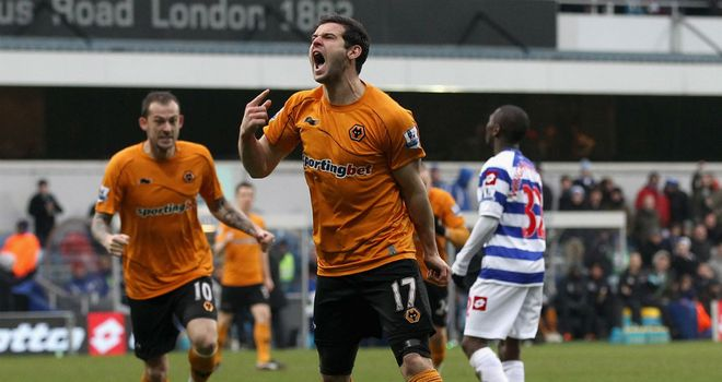Matt Jarvis: Wolves are reported to want £10million for the winger