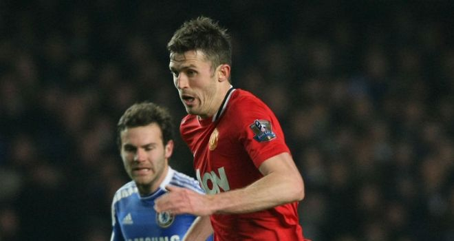 Michael Carrick: Thought his side could go all the way after levelling with Chelsea
