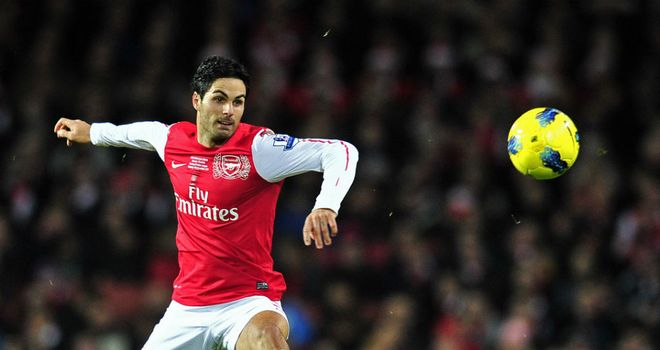 Mikel Arteta: Keen on correcting the fine details