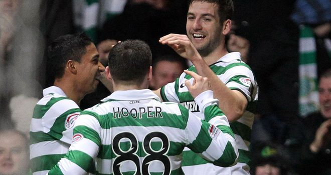 Mulgrew: Celebrates his goal