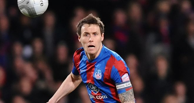 Paddy McCarthy: Crystal Palace defender is facing another four or five weeks on the sidelines