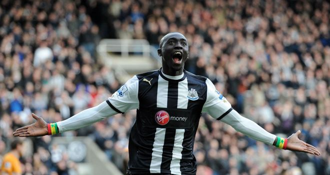 Papiss Cisse: Newcastle striker looking to be fit for derby clash