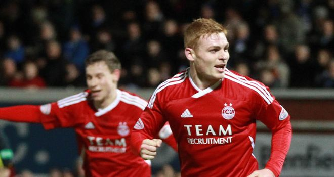 Fraser Fyvie: The teenage midfielder has attracted interest from the English Premier League
