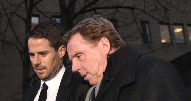 Harry Redknapp: Will consult his son Jamie