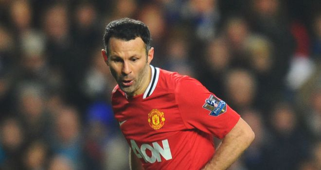 Ryan Giggs: Awarded a new deal by Manchester United to continue his Old Trafford career