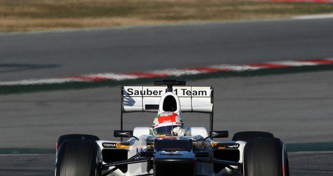Sergio Perez: Completed 85 laps