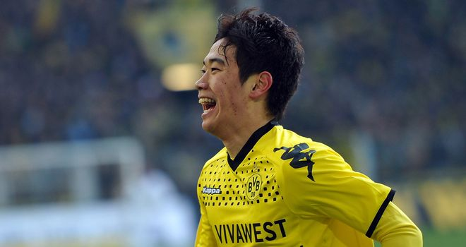 Shinji Kagawa: Ruled out with torn ankle ligaments