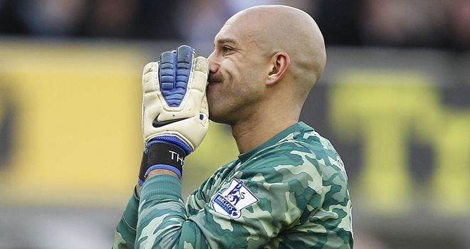 Tim Howard: Everton goalkeeper admits there will be FA Cup disappointment for one of the centre-halves