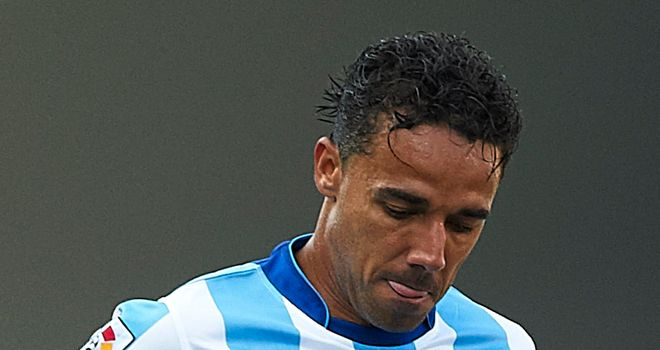 Weligton: Malaga defender expecting a difficult game against Anderlecht