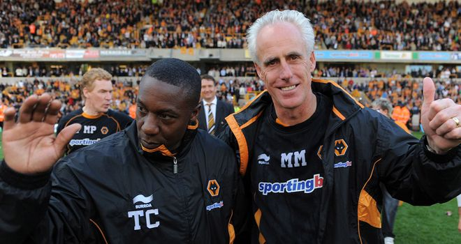 Terry Connor: Will replace Mick McCarthy as Wolves boss until the end of the season