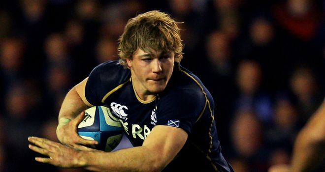 David Denton: Scotland back row impressed in losing cause against England