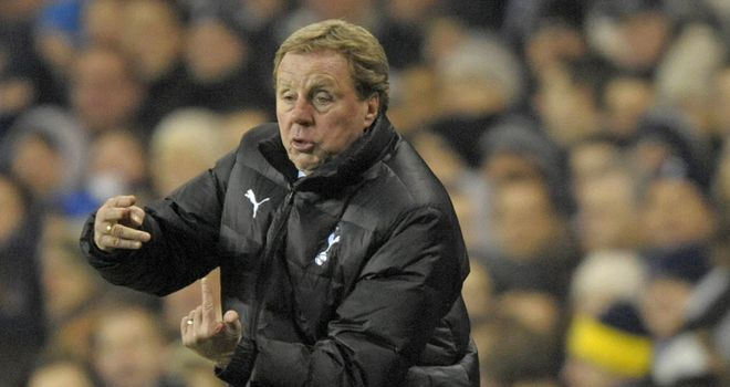 Harry Redknapp: Tottenham manager expecting a return to winning ways