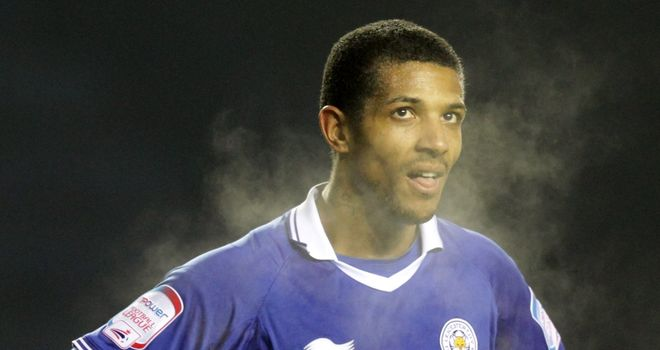 Jermaine Beckford: Saw red during Leicester's defeat at Brighton