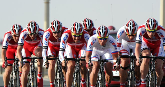 Katusha: Look set to miss out on a WorldTour place in 2013