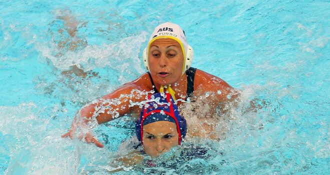 Rebecca Rippon: The Australian will not feature in the water polo arena this summer in London.