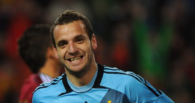Roberto Soldado: The Valencia winger hit three in his first game for his country since 2007