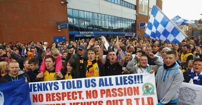 Blackburn fans: Want Venky's out of Ewood