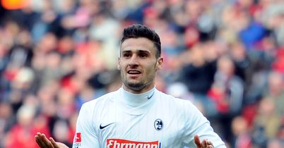 Daniel Caligiuri: Netted twice to help Freiburg through